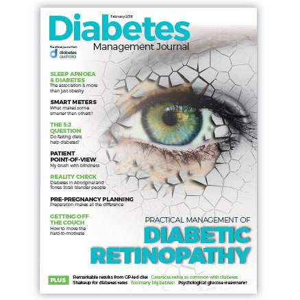 Diabetes Management Journal February 2018 cover