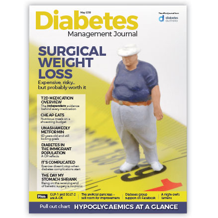 Diabetes Management Journal May 2018 cover