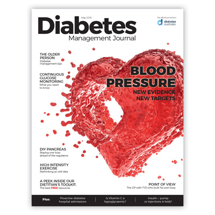 Diabetes Management Journal May 2019 edition cover