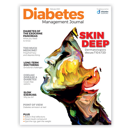 Diabetes Management Journal February 20 cover